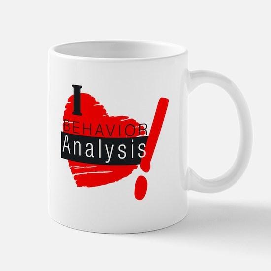 I Love behavior analysis Mugs