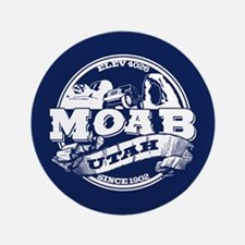 "Moab Old Circle 3.5"" Button"