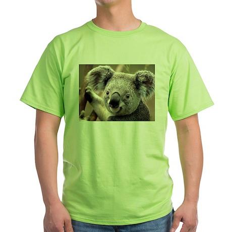Koala Green T-Shirt Koala T-Shirt | CafePress.com