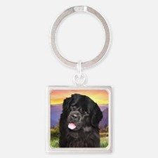 meadow.png Square Keychain