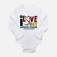 I Love My Autistic Cousin 2 Body Suit