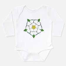Heraldic Rose Long Sleeve Infant Bodysuit