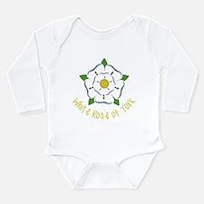 Rose Of York Long Sleeve Infant Bodysuit