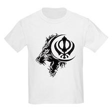Singh Sikh Symbol 1 T-Shirt
