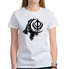 Singh Sikh Symbol 1 Tee