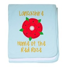 Lancashire baby blanket
