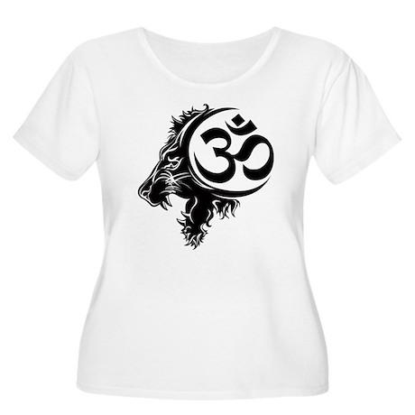 Singh Aum 1 Women's Plus Size Scoop Neck T-Shirt