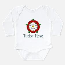 Tudor Rose Long Sleeve Infant Bodysuit