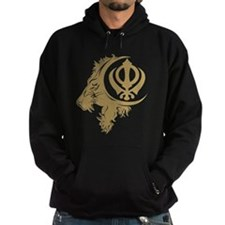 Singh Sikh Symbol 1 Hoody