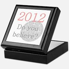 2012 Do you believe? Keepsake Box