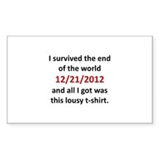 2012 Lousy T-Shirt Decal