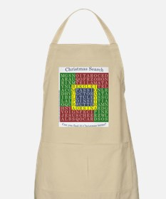 Christmas Word Search - Apron