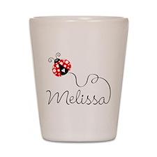Ladybug Melissa Shot Glass