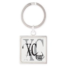 Cross Country XC Square Keychain