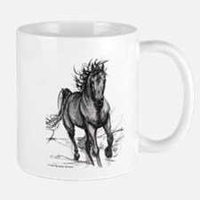 Coming Through Horse Mug
