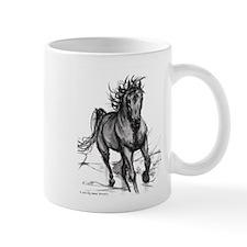 Coming Through Horse Mug