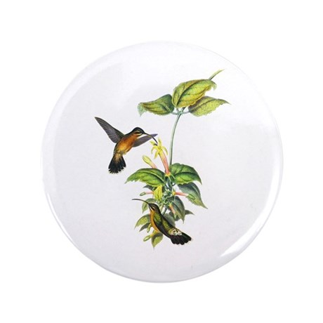 "Hummingbirds 3.5"" Button (100 pack)"