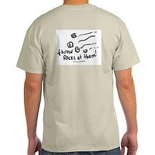 Democrats are Stupid Ash Grey T-Shirt