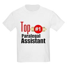 Top Paralegal Assistant T-Shirt