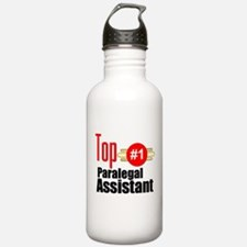 Top Paralegal Assistant Water Bottle