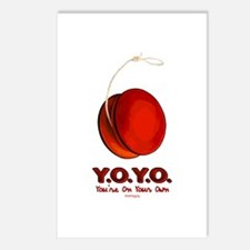 Red Y.O.Y.O. Postcards (Package of 8)