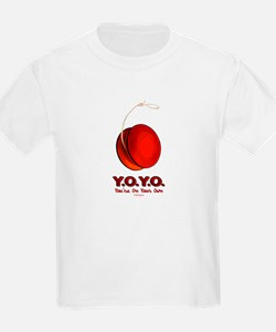 Red Y.O.Y.O. Kids T-Shirt
