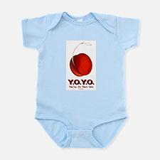 Red Y.O.Y.O. Infant Bodysuit