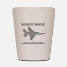 Unique Aerospace Shot Glass