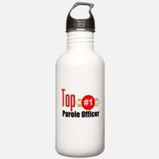 Top Parole Officer Water Bottle