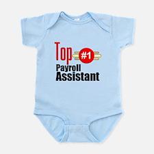 Top Payroll Assistant Infant Bodysuit