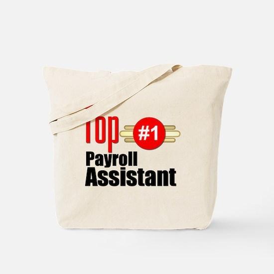Top Payroll Assistant Tote Bag