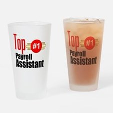Top Payroll Assistant Drinking Glass