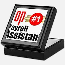 Top Payroll Assistant Keepsake Box