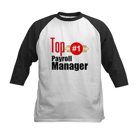 Top Payroll Manager Kids Baseball Jersey