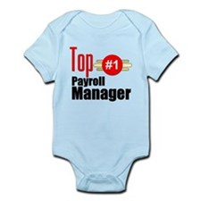 Top Payroll Manager Infant Bodysuit