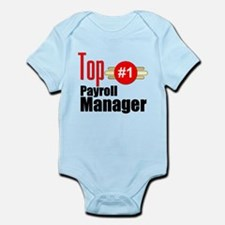 Top Payroll Manager Infant Bodysuit