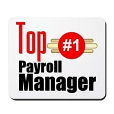 Top Payroll Manager Mousepad
