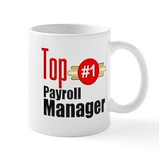 Top Payroll Manager Small Mug