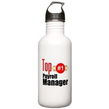 Top Payroll Manager Water Bottle