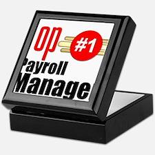 Top Payroll Manager Keepsake Box