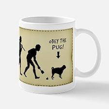 PUG Evolution - Dog Coffee Mug