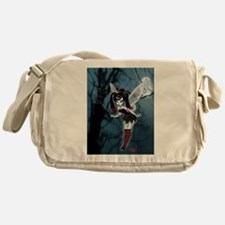 Dark Goth Fairy Messenger Bag