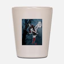 Dark Goth Fairy Shot Glass