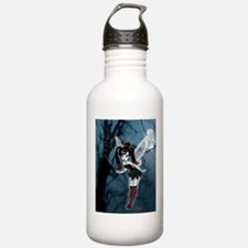 Dark Goth Fairy Water Bottle