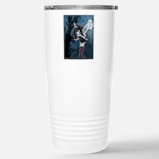 Dark Goth Fairy Travel Mug