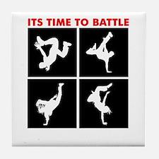 Breakdance Battle Tile Coaster