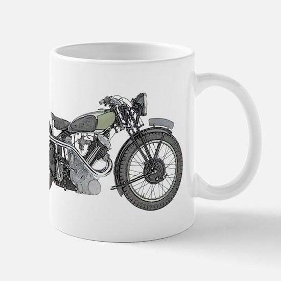 1935 Motorcycle Mug