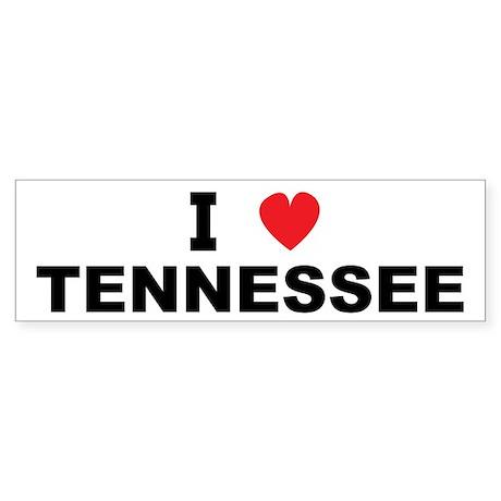 I Love Tennessee Bumper Sticker