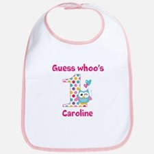 Custom guess whos 1 girl Bib