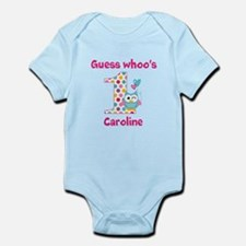 Custom guess whos 1 girl Onesie